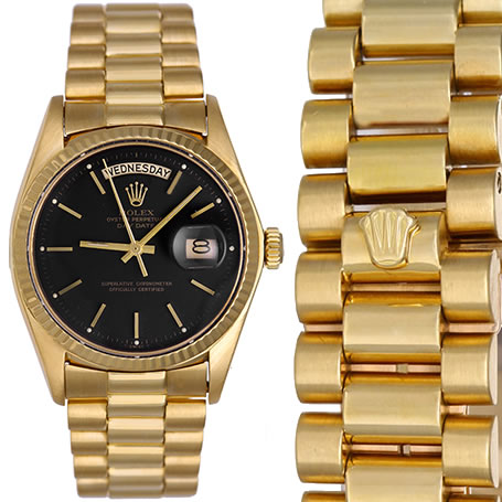ROLEX WATCH PRESIDENT DAY DATE 18K